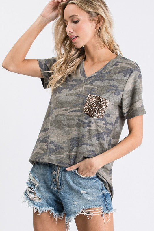 Camo Bling - The Dainty Cactus Boutique