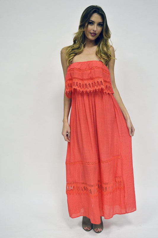 Maxine Maxi Dress - The Dainty Cactus Boutique