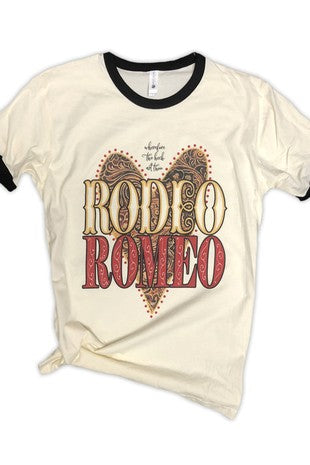 Rodeo Romeo Tee - The Dainty Cactus Boutique