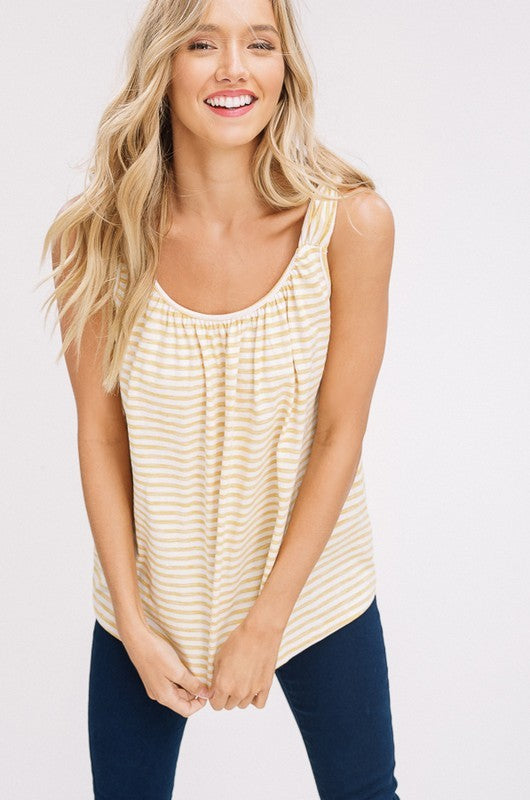 Knot Strap Top - The Dainty Cactus Boutique
