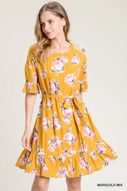 Floral Dress - The Dainty Cactus Boutique
