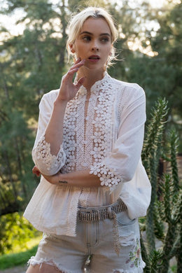 Lace Elegance Top