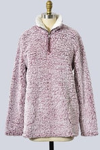 Cozy Sherpa Pullover - The Dainty Cactus Boutique