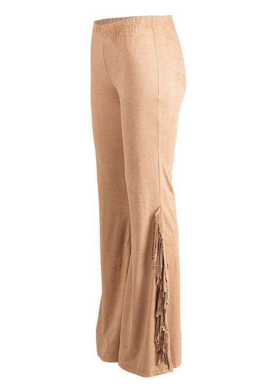 Fringe Pants - The Dainty Cactus Boutique