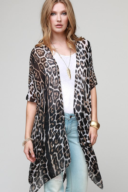 Animal Kimono - The Dainty Cactus Boutique