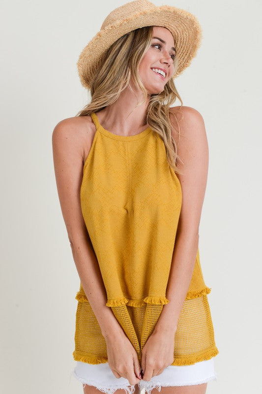 Hold Your Halter Top - The Dainty Cactus Boutique