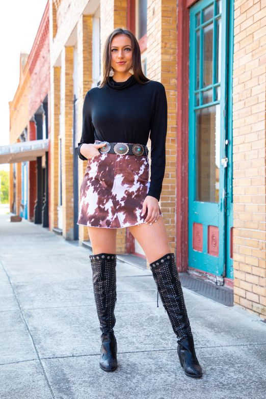 Unfinished Business Skirt