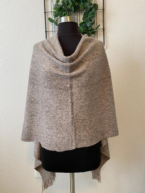 Heathered Poncho