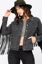 Judy Blue Fringe Jacket