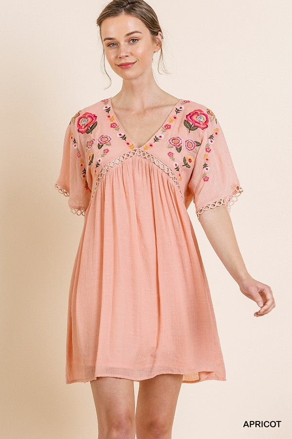 Such Sweetness Babydoll Dress - The Dainty Cactus Boutique