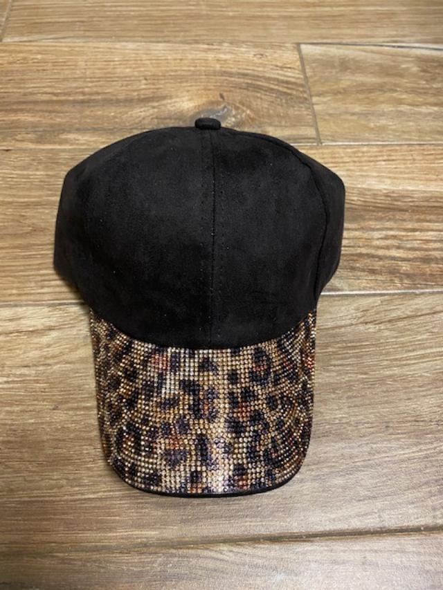 Cheetah Bling Hat