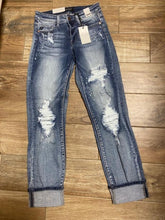 Judy Blue Destroyed Bleached Jeans