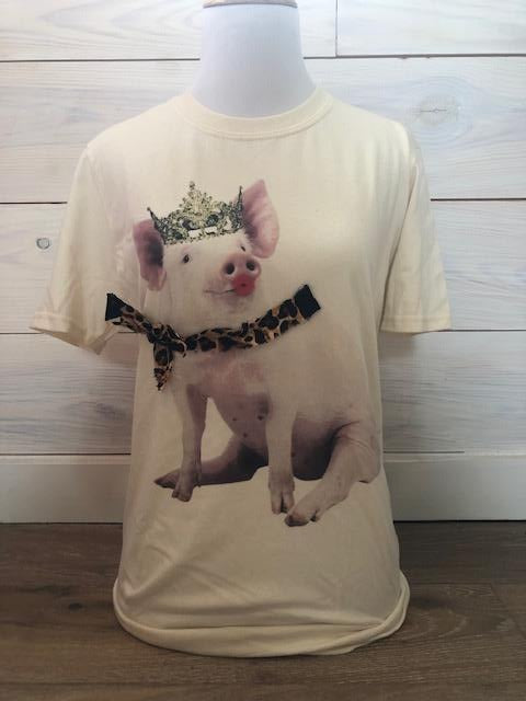 Princess Pig Tee - The Dainty Cactus Boutique