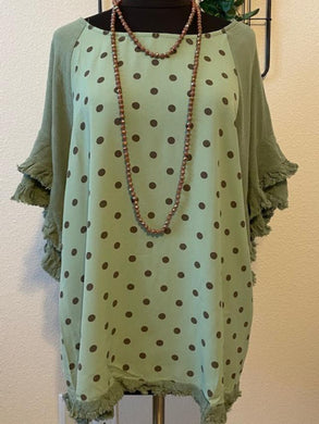 Polka Dot Time Tunic