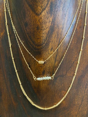 Pearl Layer Necklace