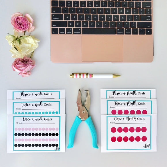 Accountability Punchcard Pack