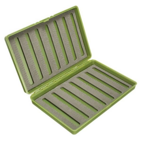 Slim plastic fly box - Fisherman's Edge