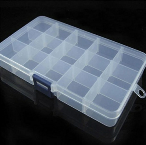 Tackle Box - Medium (15 compartments) - Fisherman's Edge