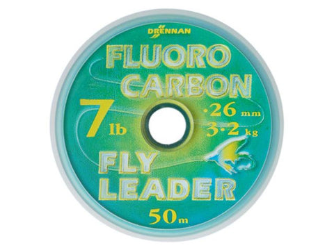 Drennan Fluoro Carbon Fly Leader - Fisherman's Edge