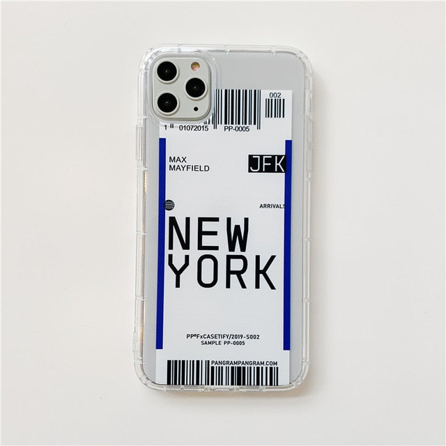 USA Ticket IPhone Case