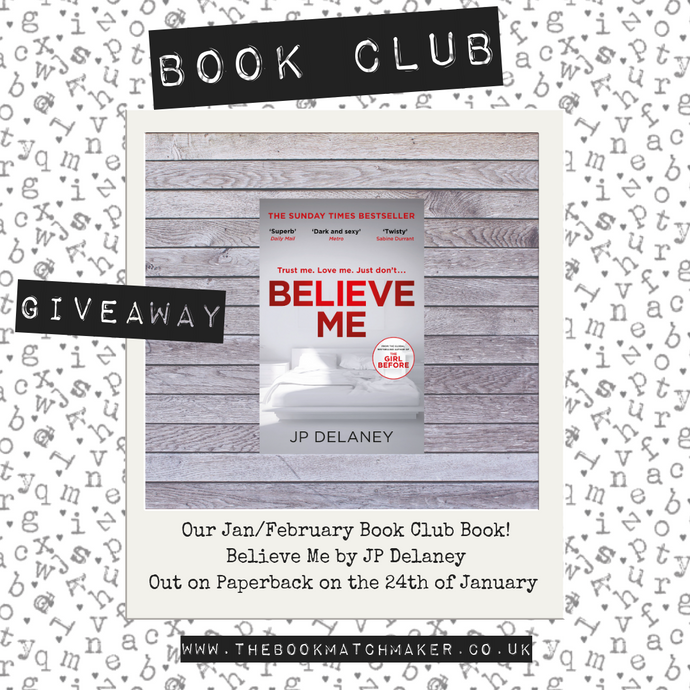 THE BOOK MATCHMAKER CLUB - JAN/FEB BOOK