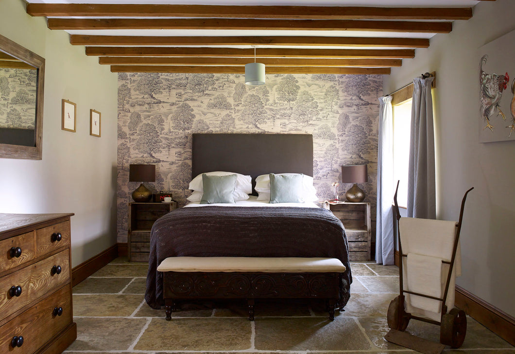 Bedroom TWO - THE OLD MILL - SOLO Occupancy - The Book Matchmaker