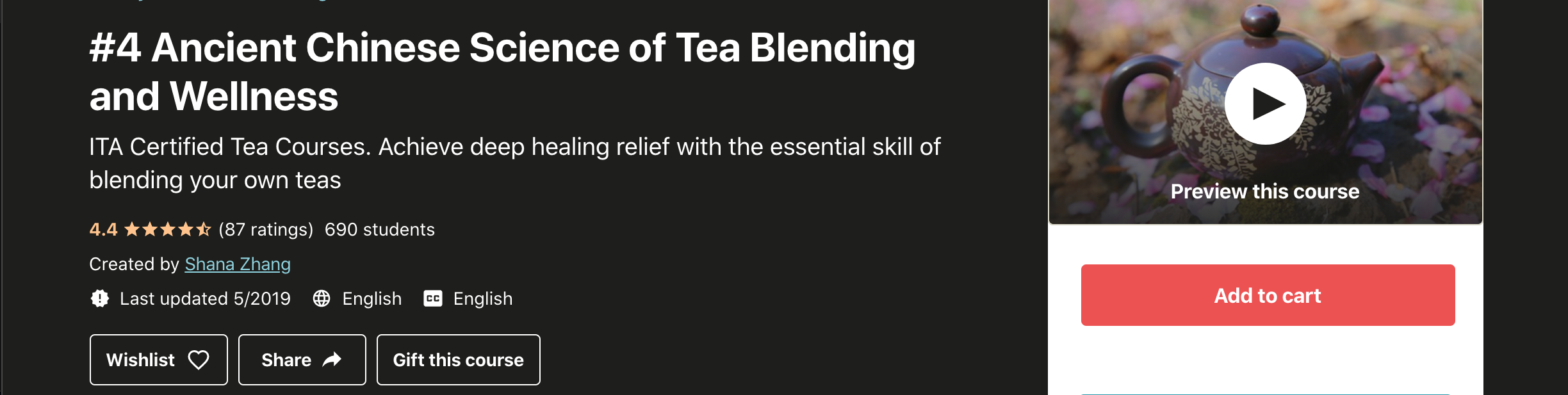 #4 Ancient Chinese Science of Tea Blending and Wellness