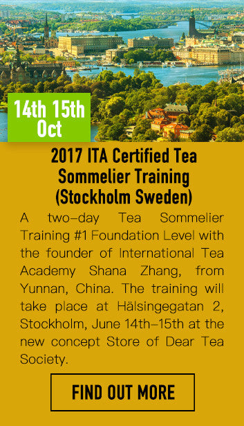 ITA Certified Tea Sommelier Foundation Level