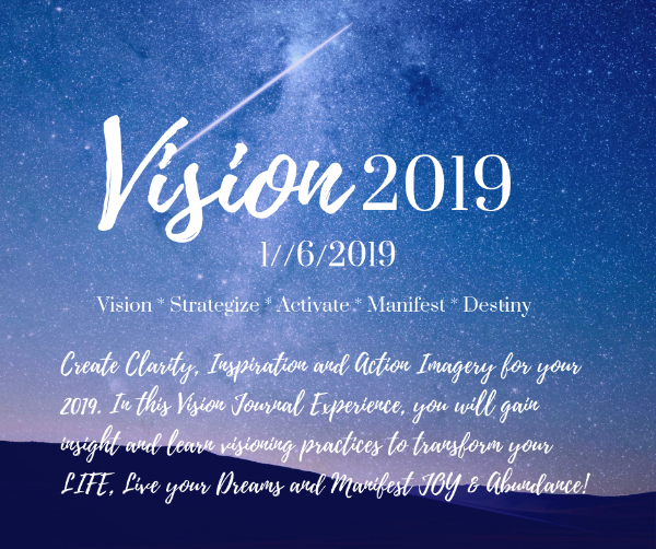 VISION 2019: Journal Immersion Experience