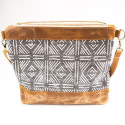 Mudcloth Crossbody - Burst into Bloom