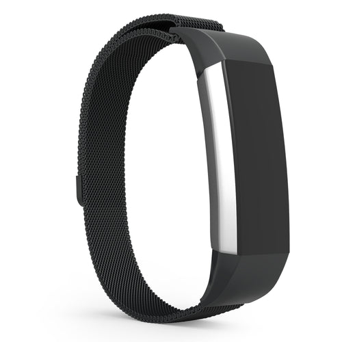 Fitbit Alta Bands - Black Metal, Universal Size.