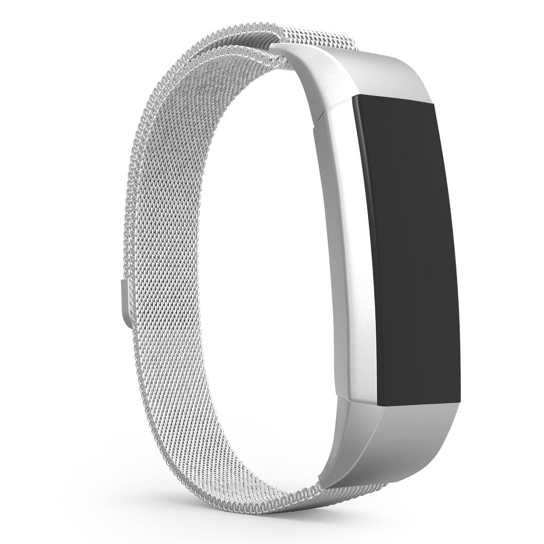 Fitbit Alta Bands - Silver, Universal Size.
