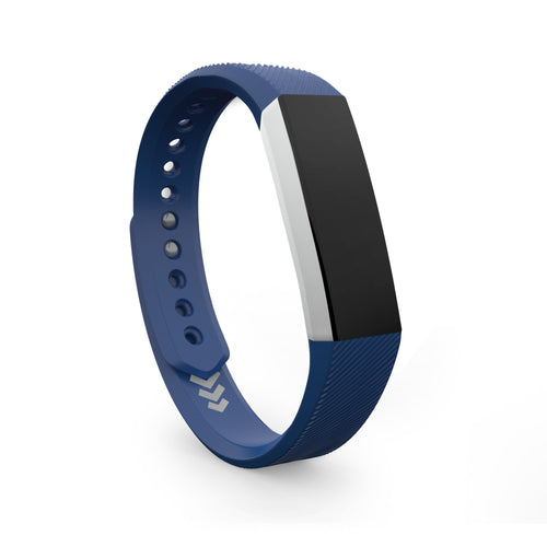 Fitbit Alta Bands - Navy Blue, Small and Large Sizes.