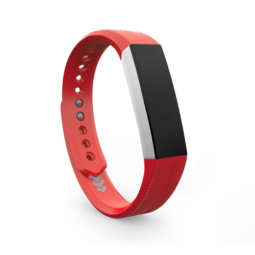 Fitbit Alta Bands - Red, Small and Large Sizes.