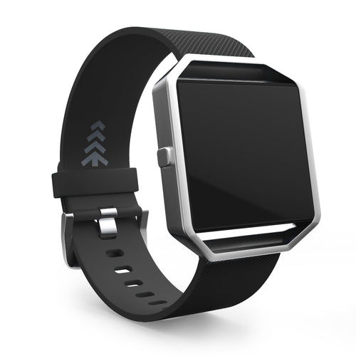 Fitbit Blaze Bands - Black, Small and Large Sizes.