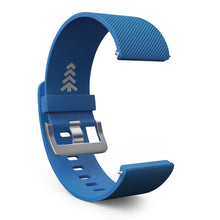 Fitbit Blaze Bands - Blue, Small and Large Sizes.