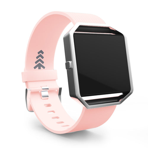 Fitbit Blaze Bands - Pink, Small and Large Sizes.