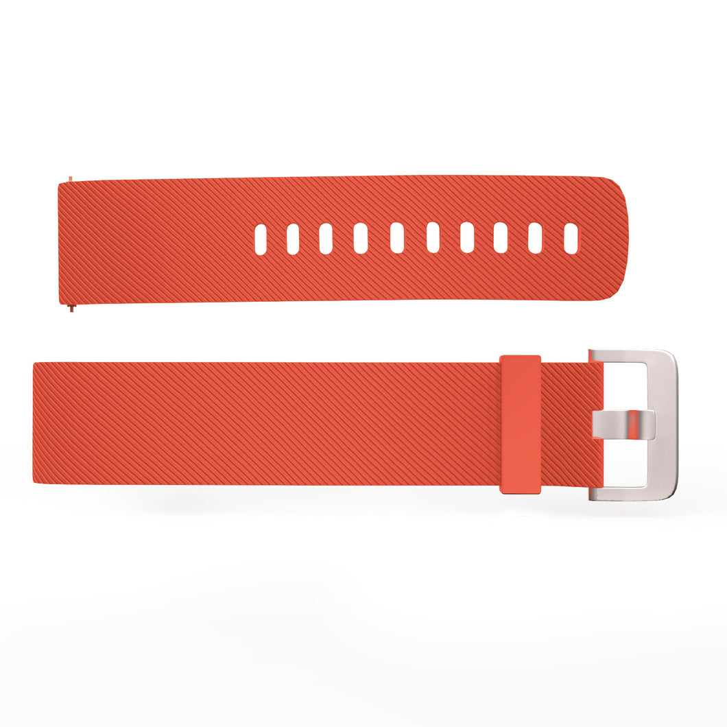 bands printed grapefruit popband panel with products orange ties mesh peach popbands hair clear lr pink new