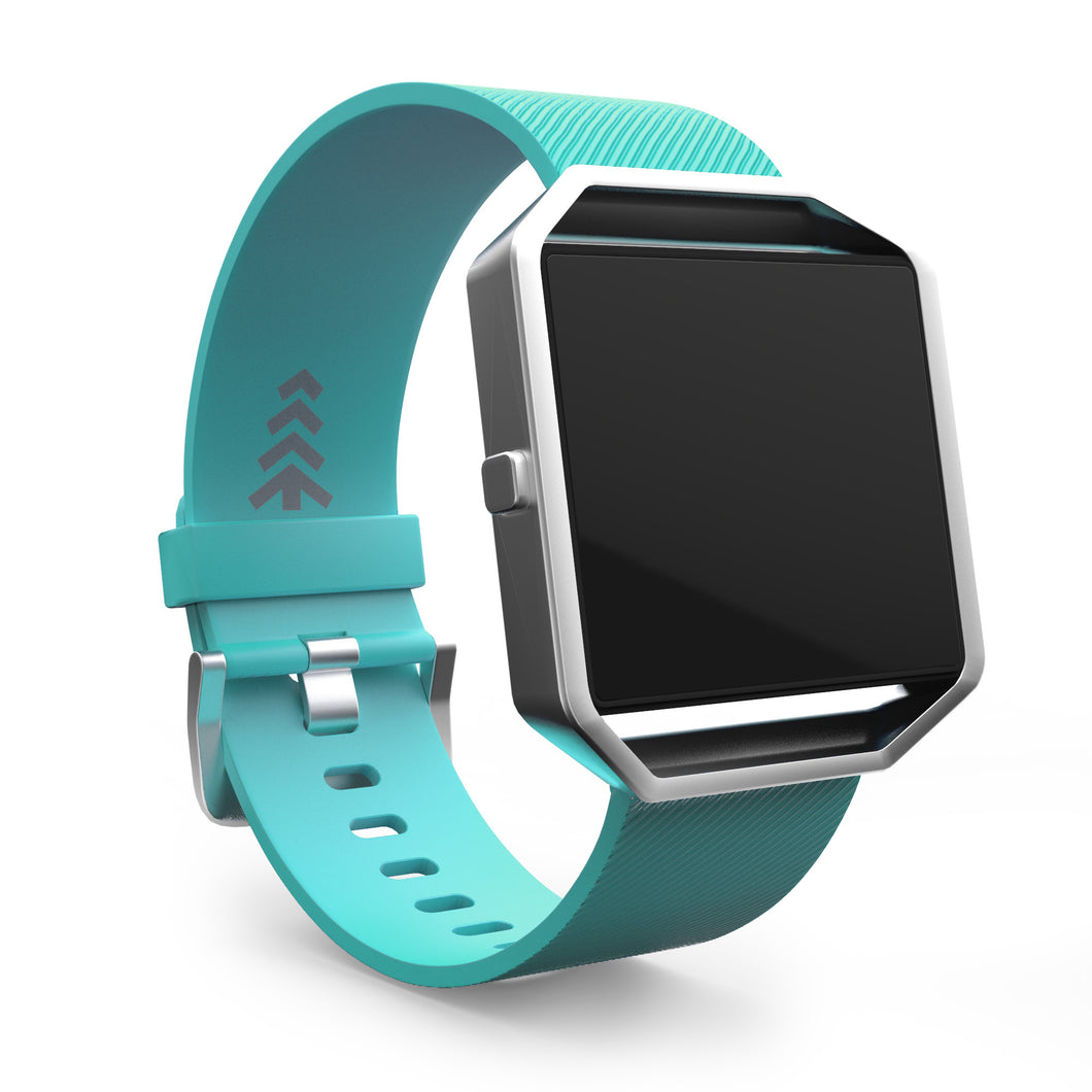 Fitbit Blaze Bands - Teal, Small and Large Sizes.