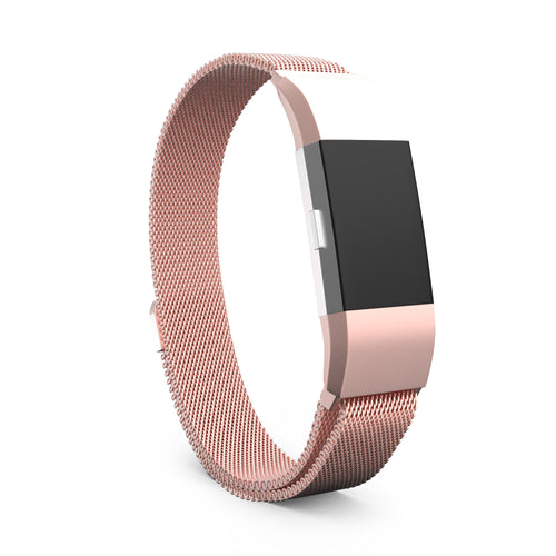 Fitbit Charge 2 Bands - Metal Rose Gold, Small Size.