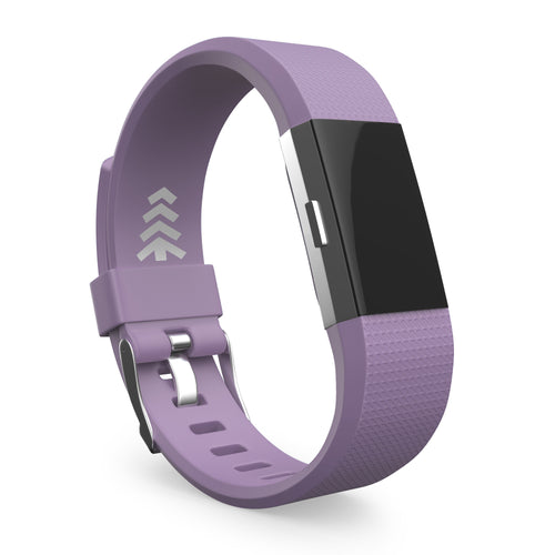 Fitbit Charge 2 Bands - Purple, Small and Large Sizes.