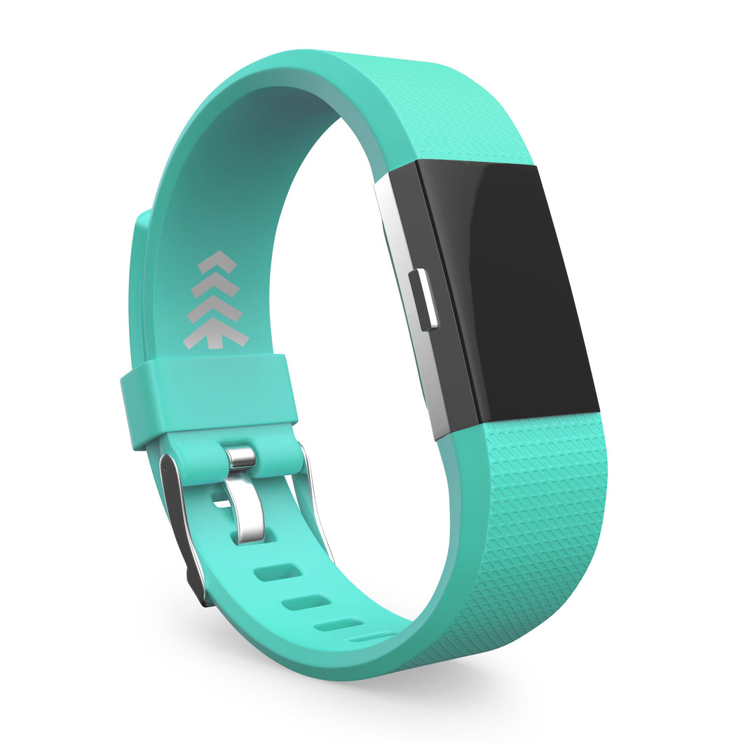 Fitbit Charge 2 Bands - Teal, Small and Large Sizes.