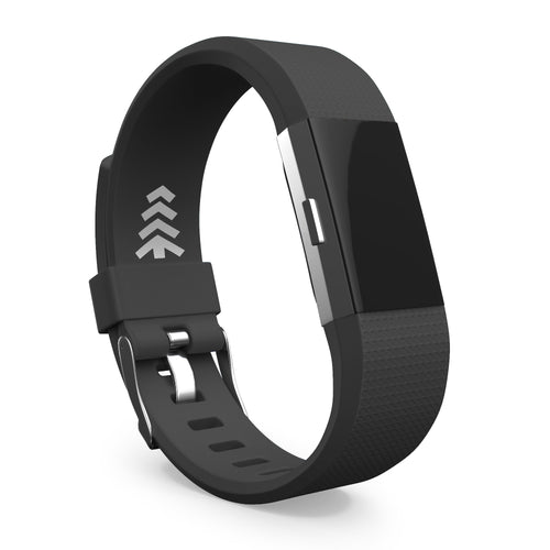 Fitbit Charge 2 Bands - Black, Small and Large Sizes.