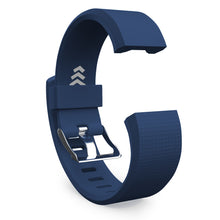 Fitbit Charge 2 Bands - Navy Blue, Small and Large Sizes.