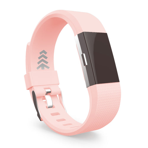 Fitbit Charge 2 Bands - Pink, Small and Large Sizes.