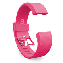 Fitbit Charge 2 Bands - Rose Red, Small and Large Sizes.