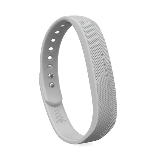 Fitbit Flex 2 Bands - Light Gray, Small and Large Sizes.