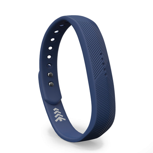Fitbit Flex 2 Bands - Navy Blue, Small and Large Sizes.