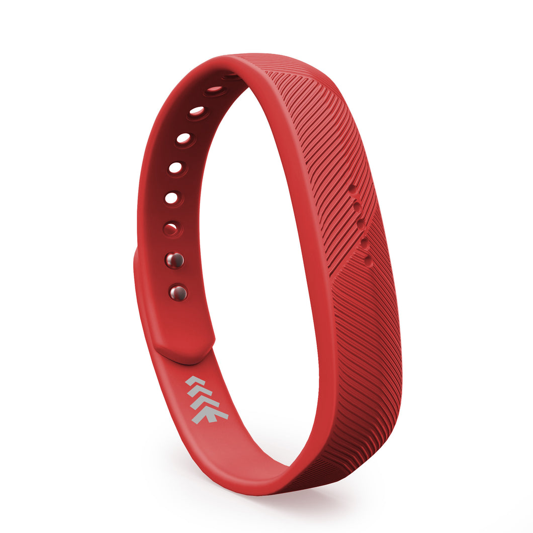 Fitbit Flex 2 Bands - Red, Small and Large Sizes.