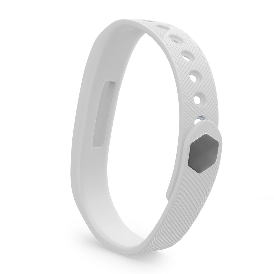Fitbit Flex 2 Bands - White, Small and Large Sizes  – Live Teak